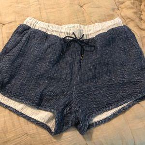 Madewell Shorts Medium Cotton/linen blend